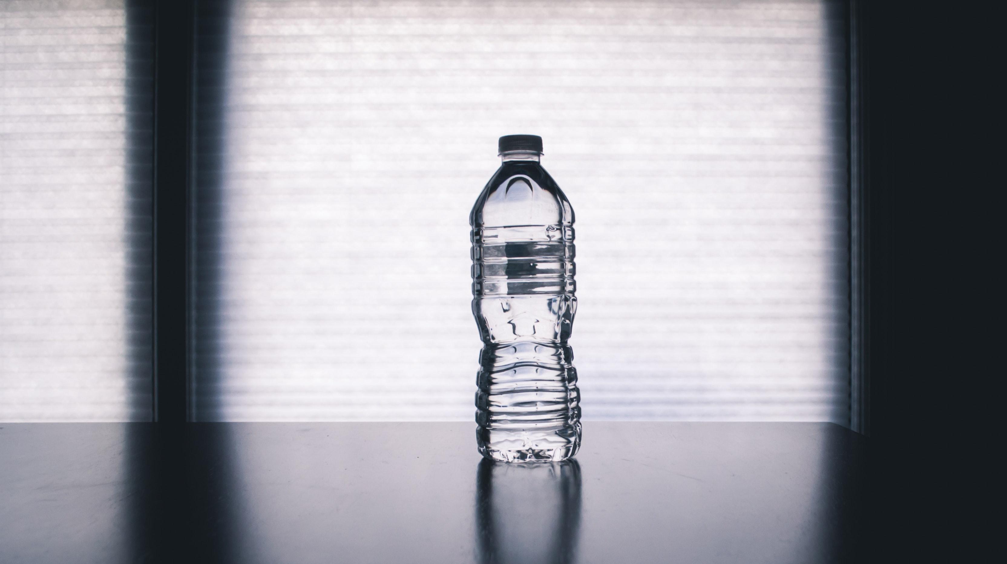 Plastikflasche aus PET