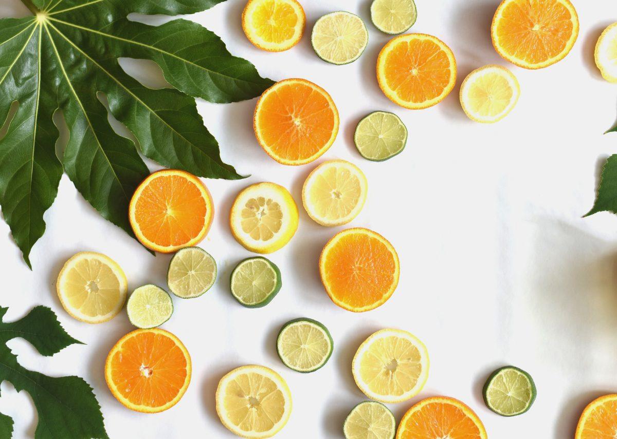 Vitamine Orange Zitrone Limone Vitamin C
